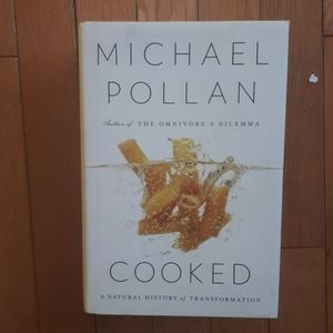 Hardcover Michael Pollan...Cooked